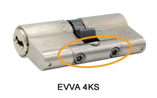 EVVA 4KS із захистом від зламу